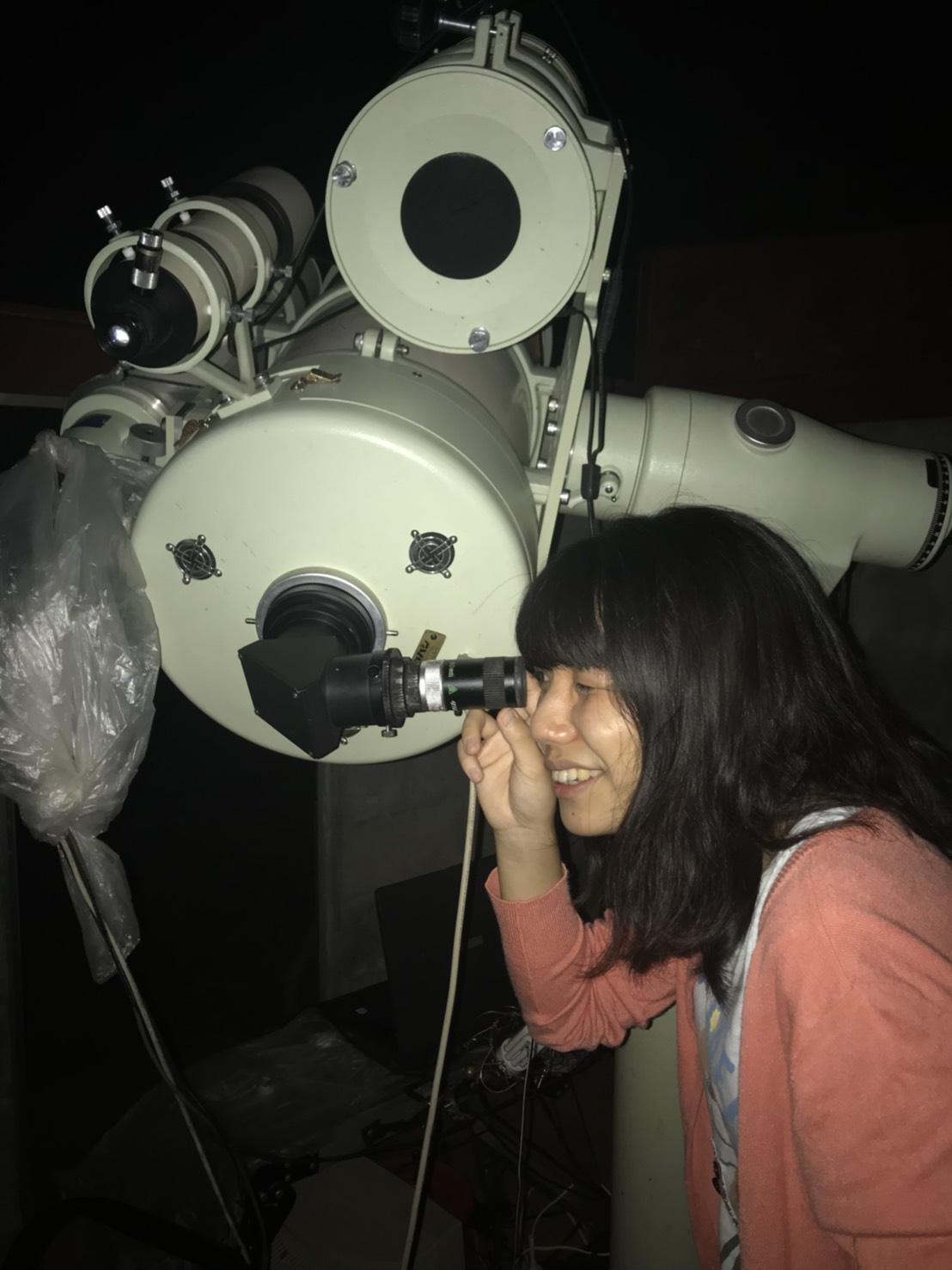 いくこ、天体観測