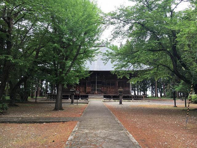 湯川村 勝常寺