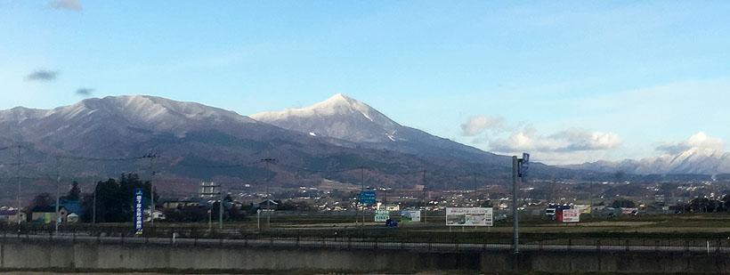 川桁山、磐梯山、猫魔火山