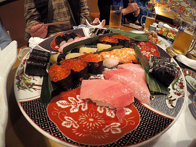 象潟町八千代寿しさんのお寿司