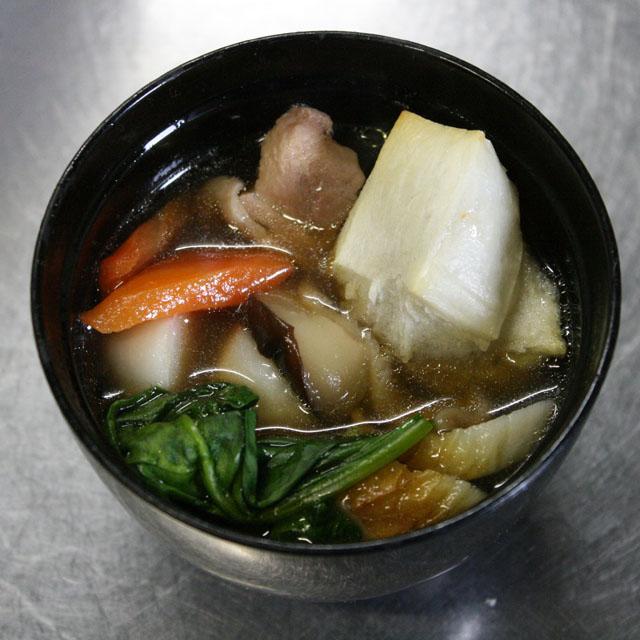 鶏がらスープのお雑煮