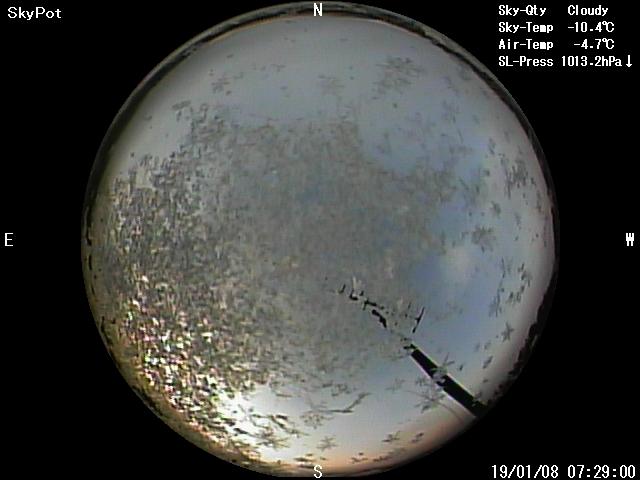 1月8日日の出の画像