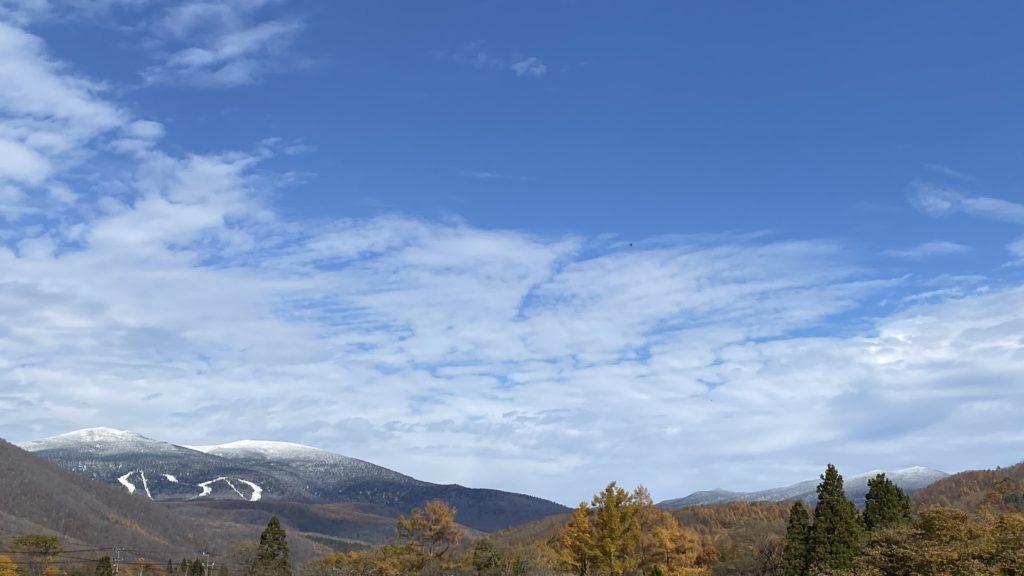 雪景色の吾妻連峰 2020