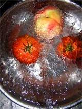 桃とトマト