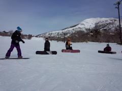 猪苗代リゾートスキー場の風景