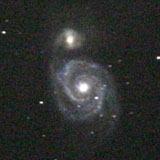 りょうけん座の系外銀河M52