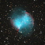 こぎつね座の惑星状星雲M27