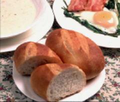 自家製焼き立てフランスパン