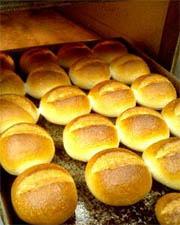 パンが焼きあがった画像