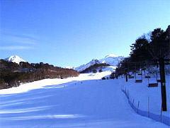 裏磐梯スキー場の風景