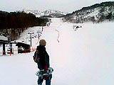 裏磐梯スキー場に帰ってきました