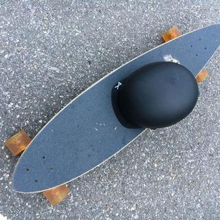 スノーボードのオフトレにスケートボード