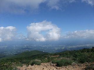 ドーナッツ型の雲