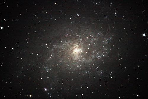 さんかく座M33系外銀河 カレワラ天文台