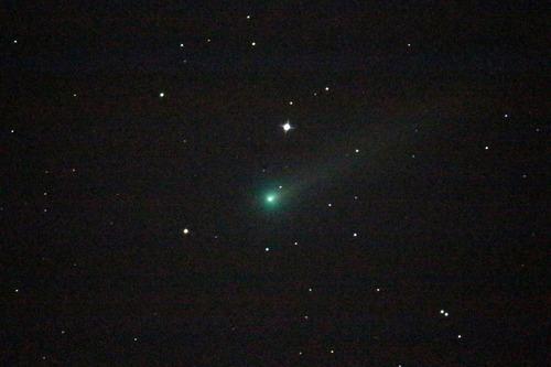 アイソン彗星 裏磐梯五色沼カレワラ天文台