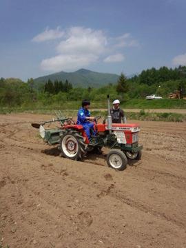裏磐梯農業体験