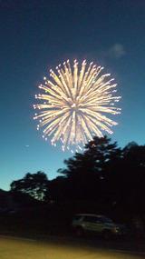 裏磐梯火の山祭り・桧原湖花火大会5