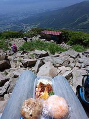 磐梯山山頂お弁当