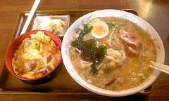 川俣町しゃものラーメンと親子丼