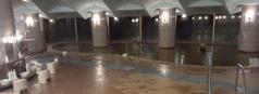 温泉(裏磐梯ホテル)