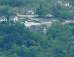 磐梯山からペンションカレワラ拡大