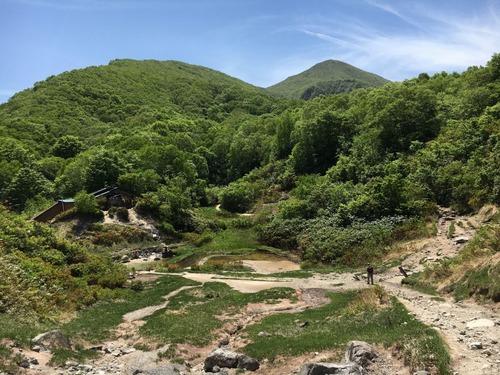 磐梯山登山