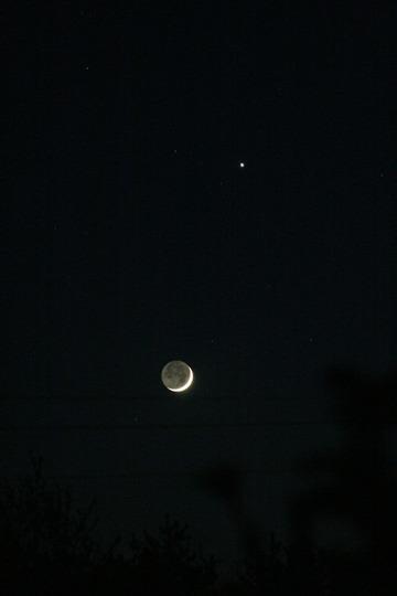 月と木星 カレワラ天文台