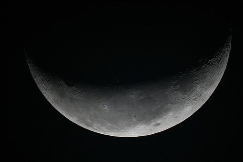 月齢23.3日 天文台のあるペンションカレワラ