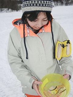 小野川湖わかさぎ釣り(かおりん)