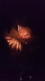 裏磐梯火の山祭り・桧原湖花火大会3