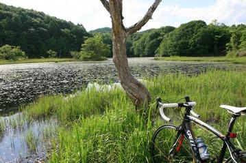 桧原湖サイクリング