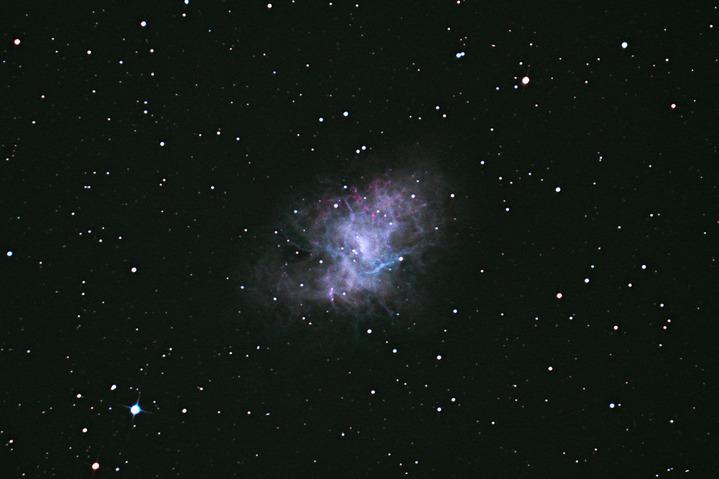 天文台あるペンション カレワラ 超新星残骸M1かに星雲 (^_^)/