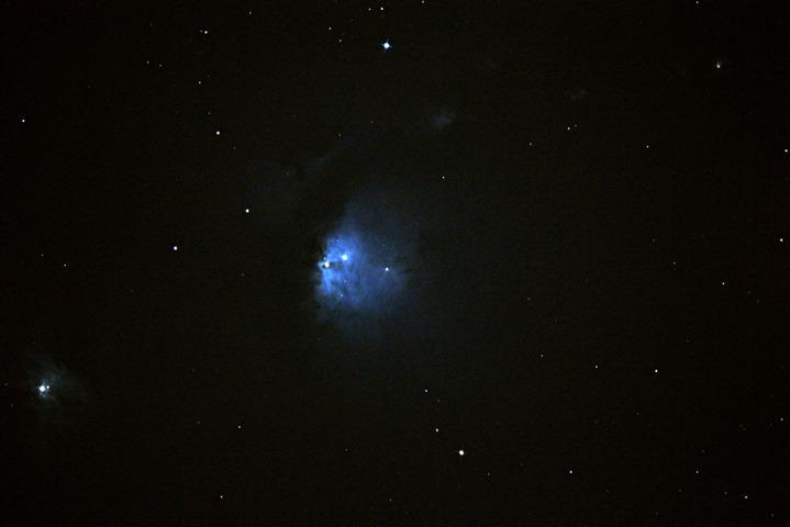 カレワラ天文台 ウルトラの故郷M78