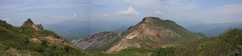 磐梯山から20110607