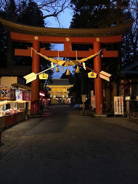 伊佐須美神社初詣