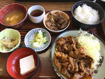 会津坂下 桜焼肉定食
