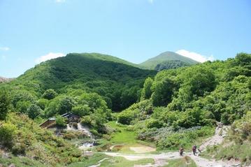 磐梯山 中の湯