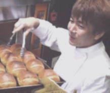 オーナーとパン