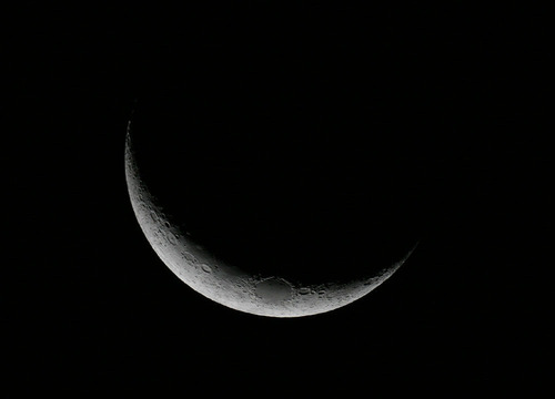 裏磐梯の月(天文台)