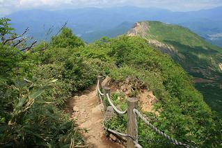 磐梯山 登山道